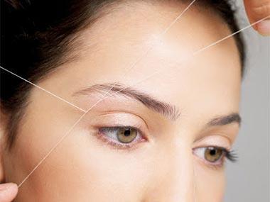 eyebrow-threading image